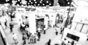 Home Show Convention blurred